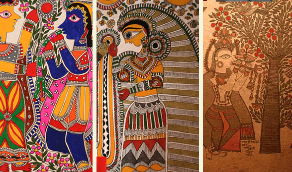 Types of Madhubani
