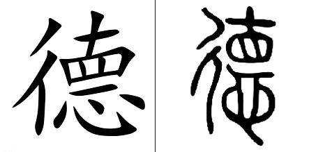 De ideograms