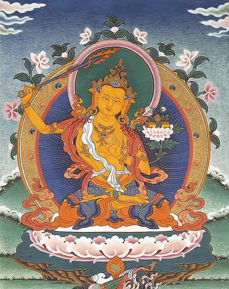 Tibetan Manjusri