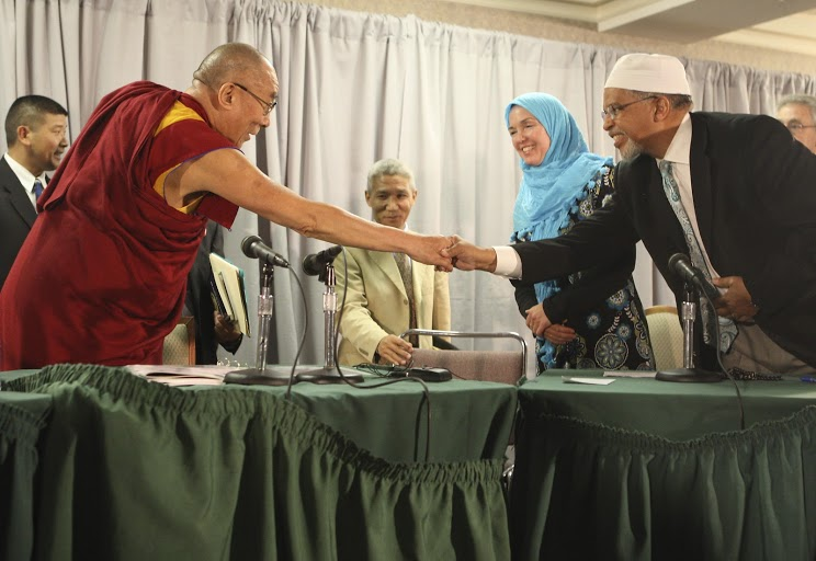Common Ground Islam-Buddhism, Bloomington, 2010
